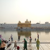 The Golden Temple from the entrance (Amritsar,India)