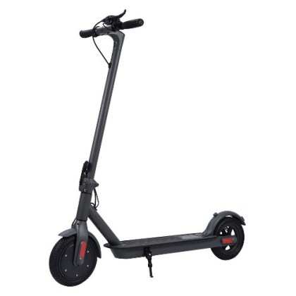 Geterkey Electric Scooter, 25 km Long-Range, Up to 25 km/h with 8.5 inch Solid Rubber Tires, Portable and Folding E-Scooter for Adults and Teenagers