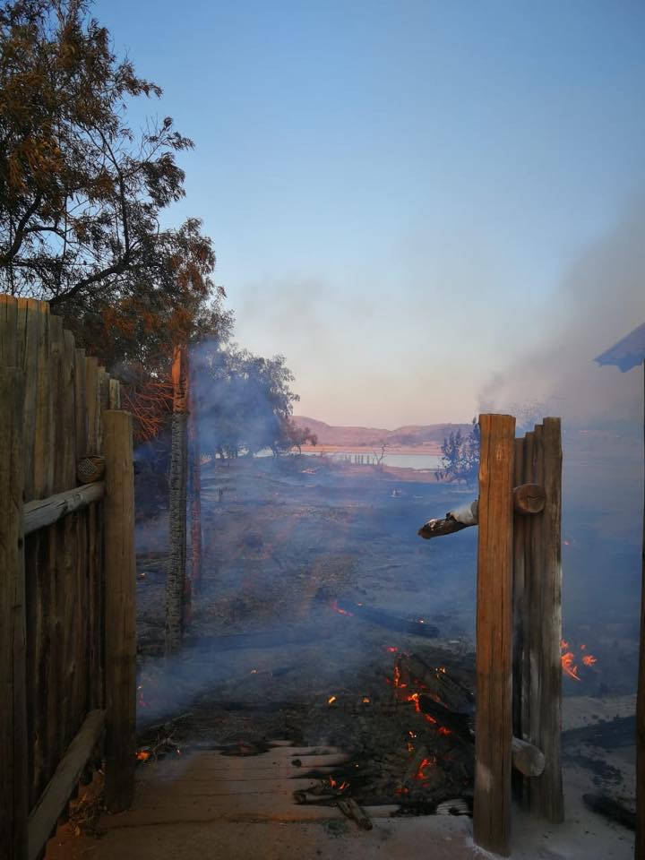 A Wildfire Devestates Pilanesberg National Park
