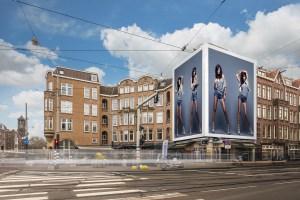 Big Outdoor Media steigerdoek reclame Amstelveenseweg 212 Amsterdam