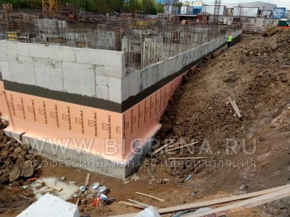 Эластичная цементная полимерцементная гидроизоляция