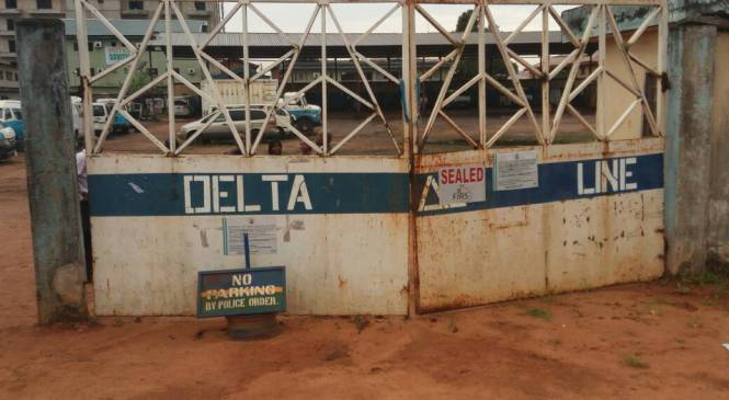 Delta Line Workers Under Delta Govt Payroll Shut Down Asaba Over Non Payment Of 8 Months Salaries