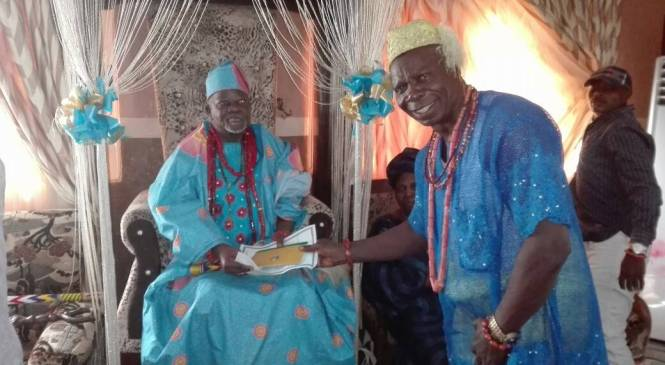 Badagry Monarch Urges HOSCON To Ensure FG Synergies With All Oil Producing Communities