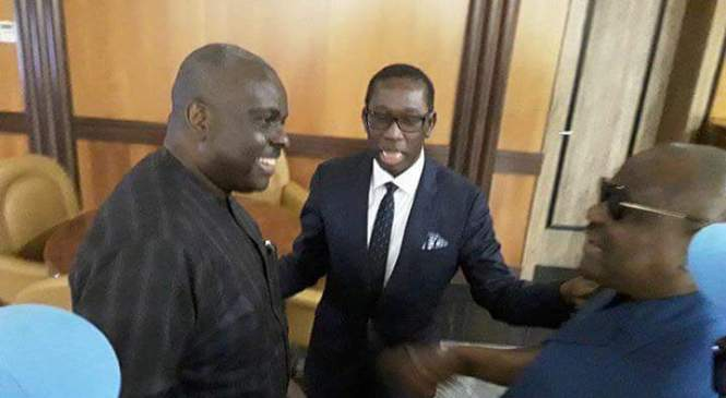 Ibori Cynosure Of All Eyes As He Visits Govt House Asaba First Time Since His Return From UK