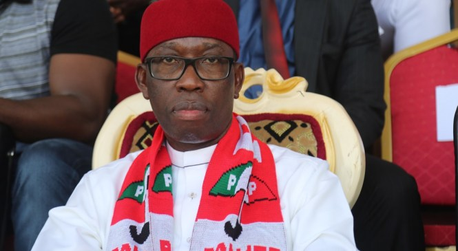 Okowa Becomes A Trailblazer, A Stabilizing Catalysts At #PDPNational Convention