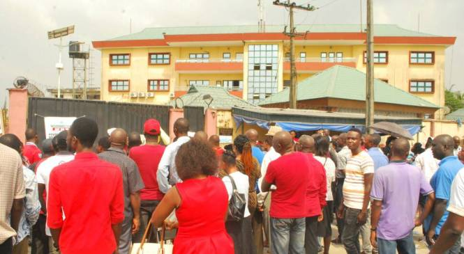 Police Shoots Colleague In Attempt To Disperse Protesting DESOPADEC Workers