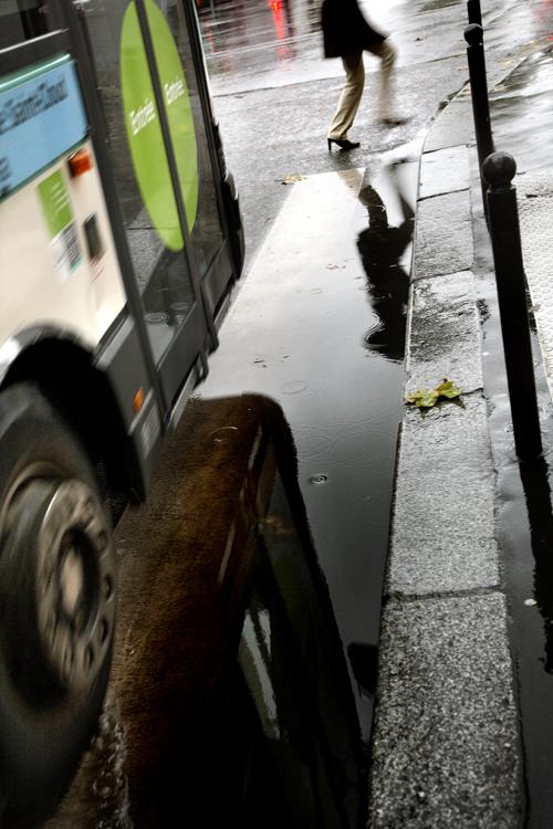 0135 Париж под дождем. Фотограф Кристоф Жакро