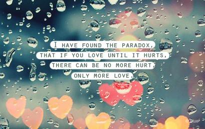 love paradox