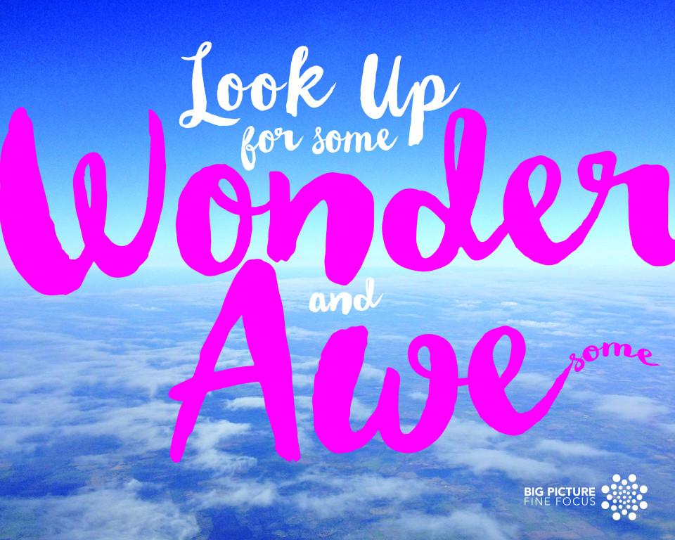 Wonder & Awe(some)