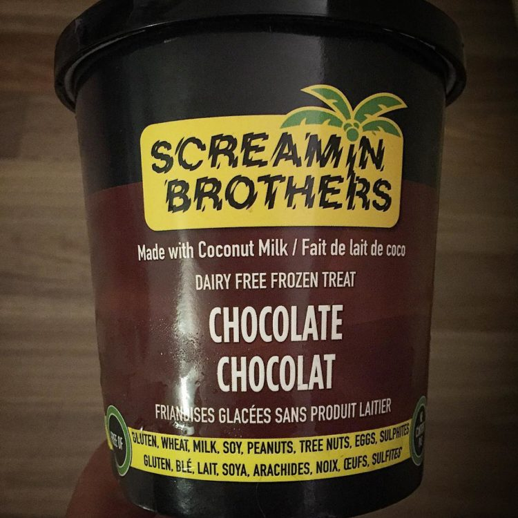 If you're looking for a #delicious #dairyfree #nutfree #glutenfree treat, I highly recommend @screaminbros organic coconut milk frozen dessert. It is so, so good. #delish