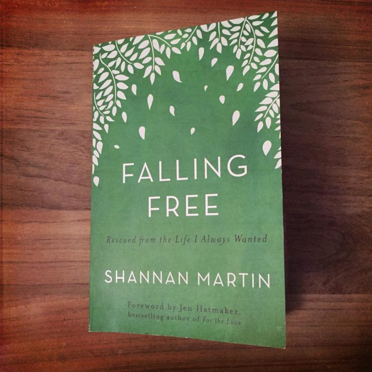 """""""There's a difference between being too scared to do hard things and doing hard things scared.""""-Shannan Martin I love coming across hidden gems and not-so hidden gems. Gem. That is precisely the word I would use to describe """"Falling Free"""" and Shannan Martin. She had a wonderful marriage, a beautiful home, and a growing bank account. Her and her husband had flourishing careers and everything appeared to be on the up and up. They lived safe, secure, and comfortable lives-something that many if not all of us secretly or openly desire, whether we care to admit it or not. Yet what if in the midst of their quest, our quest for safe, secure, and comfortable lives, we were/are pursuing the very things preventing us from living…our best lives?!? """"Love is really love-when you are loving the unlovable. Forgiveness is really forgiveness-when you are forgiving the unforgivable. Faith is really faith-when you believe for the unbelievable. And there is a grace that says even this is not impossible and that makes you one of the impossables.""""-Ann Voskamp """"Deep inside, under my protective layers and all my excuses, buried beneath my ignorance and pride, nearly suffocated by my false realities and unholy ideas, a brand-new spark was lit.""""-Shannan Martin Life. Leadership. Legacy. If you think you've got everything figured out, this book is for you. If you think you've got nothing figured out, this book is for you. And if you're neither here nor there, this book is for you. This book is a game changer because…love, God's love is a game changer in the best possible way."""