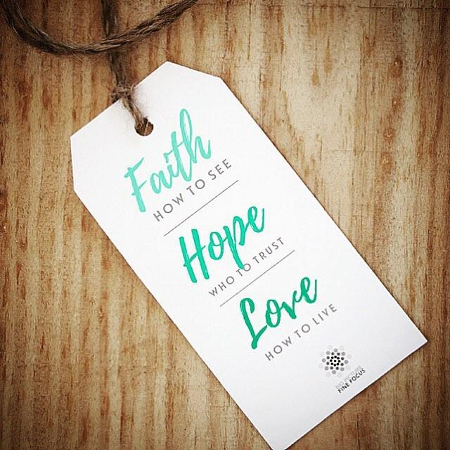 Faith Hope Love mondaymotivation