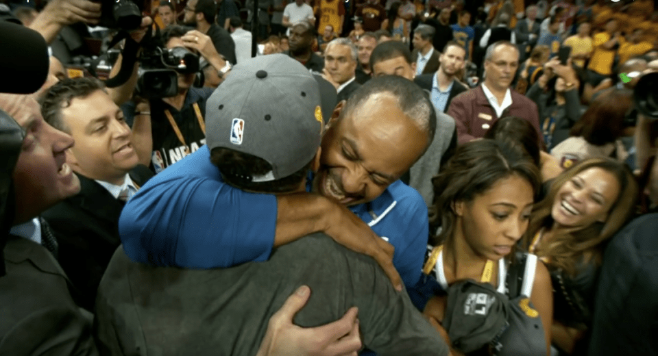 Steph Curry & Dell Curry