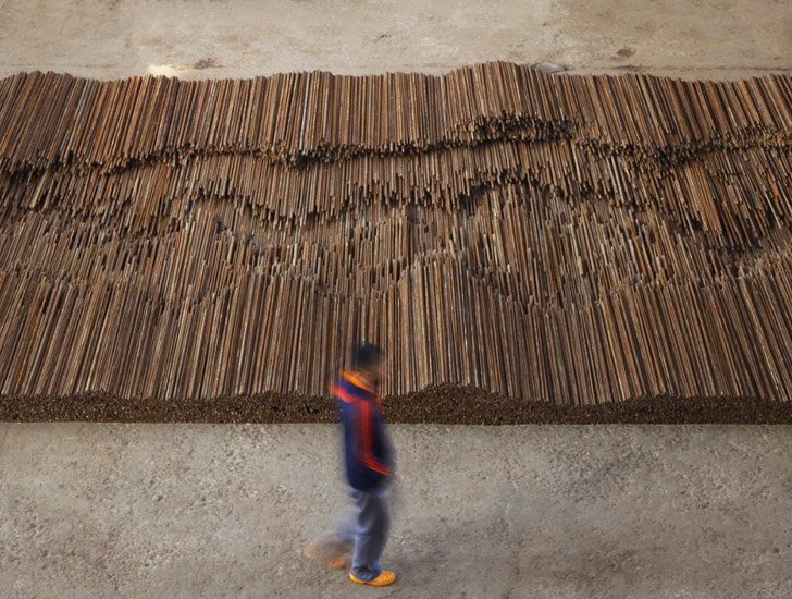 ai-weiwei-straight-salvaged-rebar-art-8