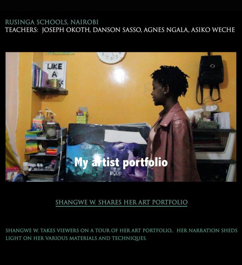 Shangwe W portfolio tour