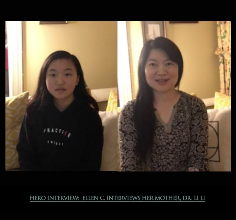 Ellen interviews her mother, Dr. Li Li