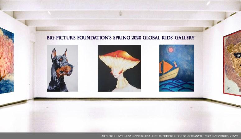 Spring 2020 Gallery Header