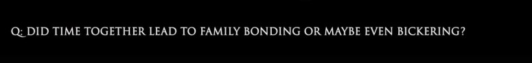 bonding or bickering