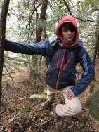 sam being george washington at a crows path shadow day