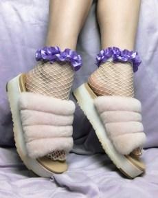 white-fishnet-socks-purple-pastel-ruffle-ribbon-y2k-kawaii-stockings