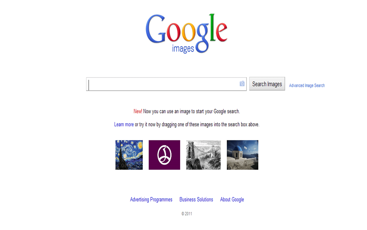 Drag And Drop Google Image Search