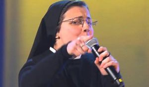 An Italian nun is a singing sensation, and I don't care.