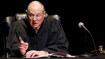 Justice Kennedy in Robes Wide Pic