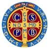 Benedictine Scapular Symbol Cross Medal Square Pic