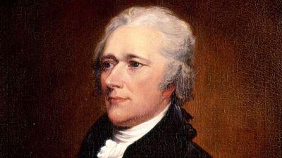 Alexander Hamilton by Trumbull