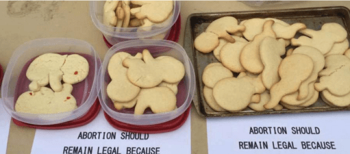 Fetus Cookies sic abortion culture of death