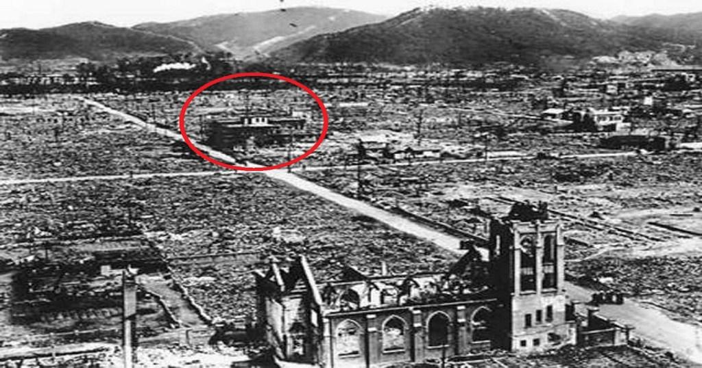 Armistice du 11 novembre : petite pensée pour mon grand-père et ses camarades Jesuit-Building-that-Survived-the-Hiroshima-Atomic-Bomb-Credit-uCatholic
