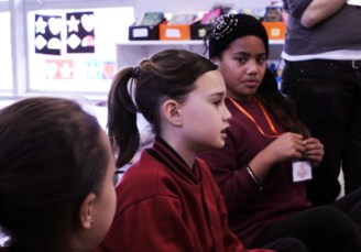 Students at Mahogany Rise Primary School engaging in Big Questions 2013