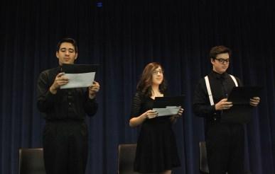 high schoolers read Poe