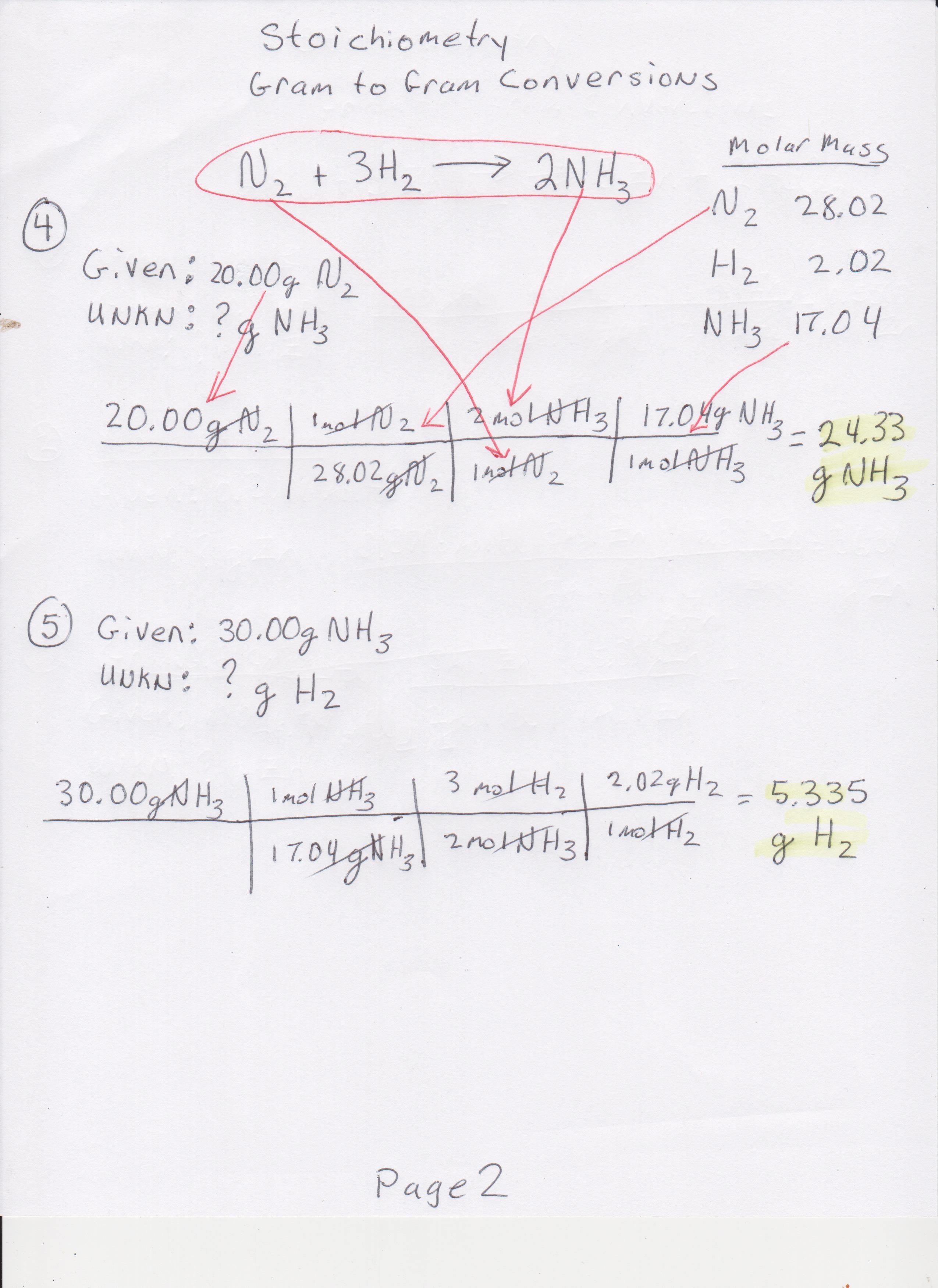 Semester 2 Classwork