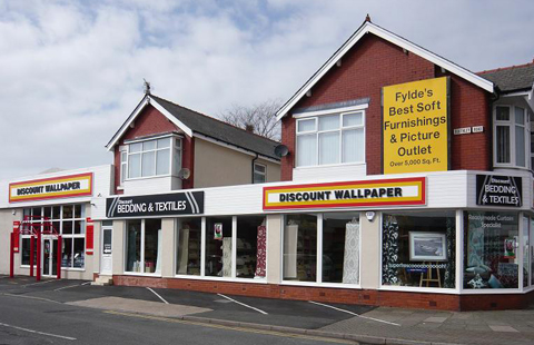 Discount Wallpaper Blackpool Shop Opening Times And Reviews