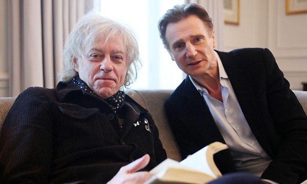 Bob Geldof and Liam Neeson