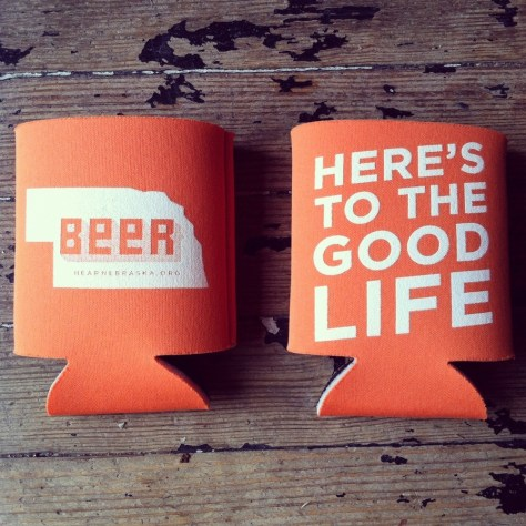 Hear Nebraska Koozie