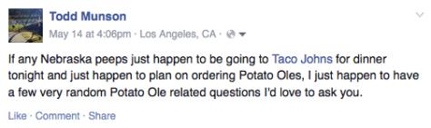 Potato Olés