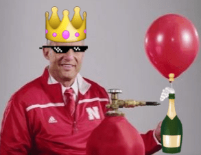 Mike Riley Balloon Michigan State