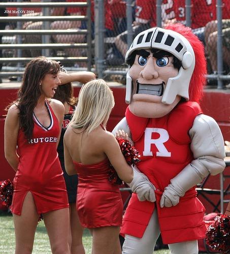 Rutgers Mascot