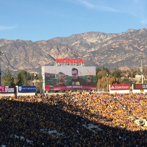 Tom Arnold Rose Bowl
