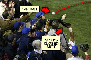 Sorry crazy obsessive Cubs fans, but find someone else to blame.