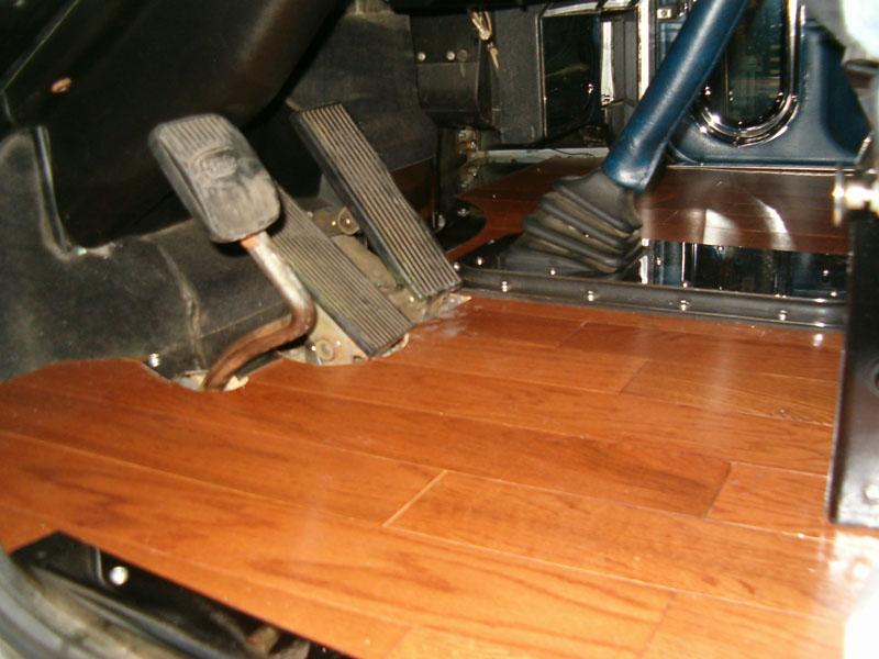Peterbilt Hardwood Floor Kits
