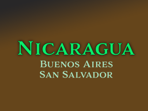 Nicaragua Buenos Aires San Salvador