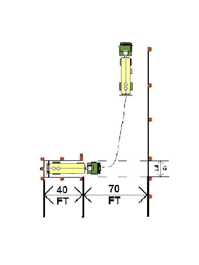 pa setup diagram wiring for trane heat pump thermostat cdl skills test cone layout - big rig career