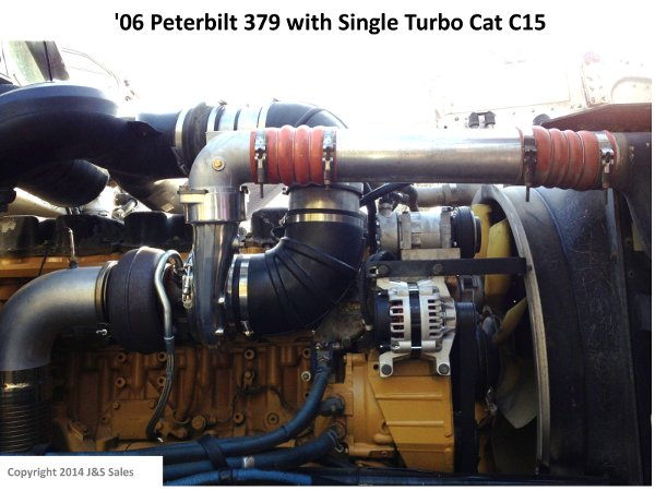 2006 379 Peterbilt Wiring Diagram Single Turbo Conversions Complex To Simple Big Rig Power