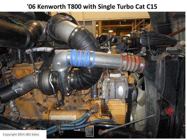 Peterbilt Ac Wiring Diagram Single Turbo Conversions Complex To Simple Big Rig Power