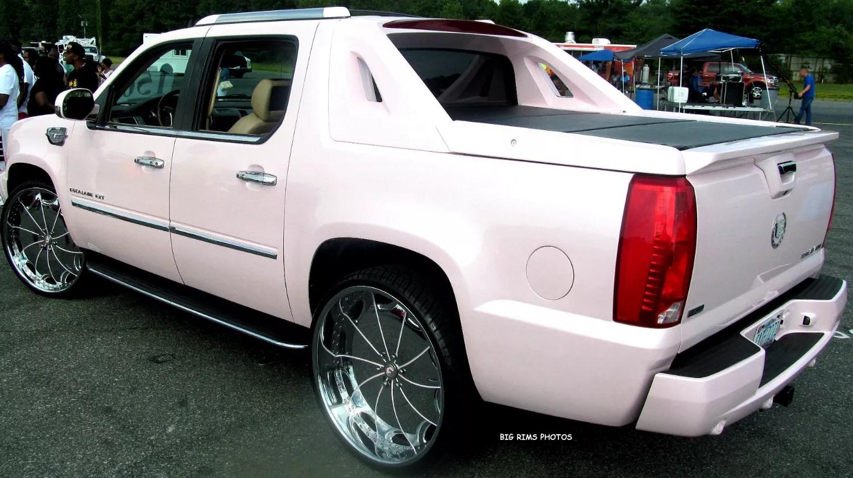 Cadillac Escalade EXT On Forgiato Wheels  Big Rims