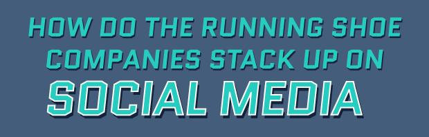 Running companies on social media