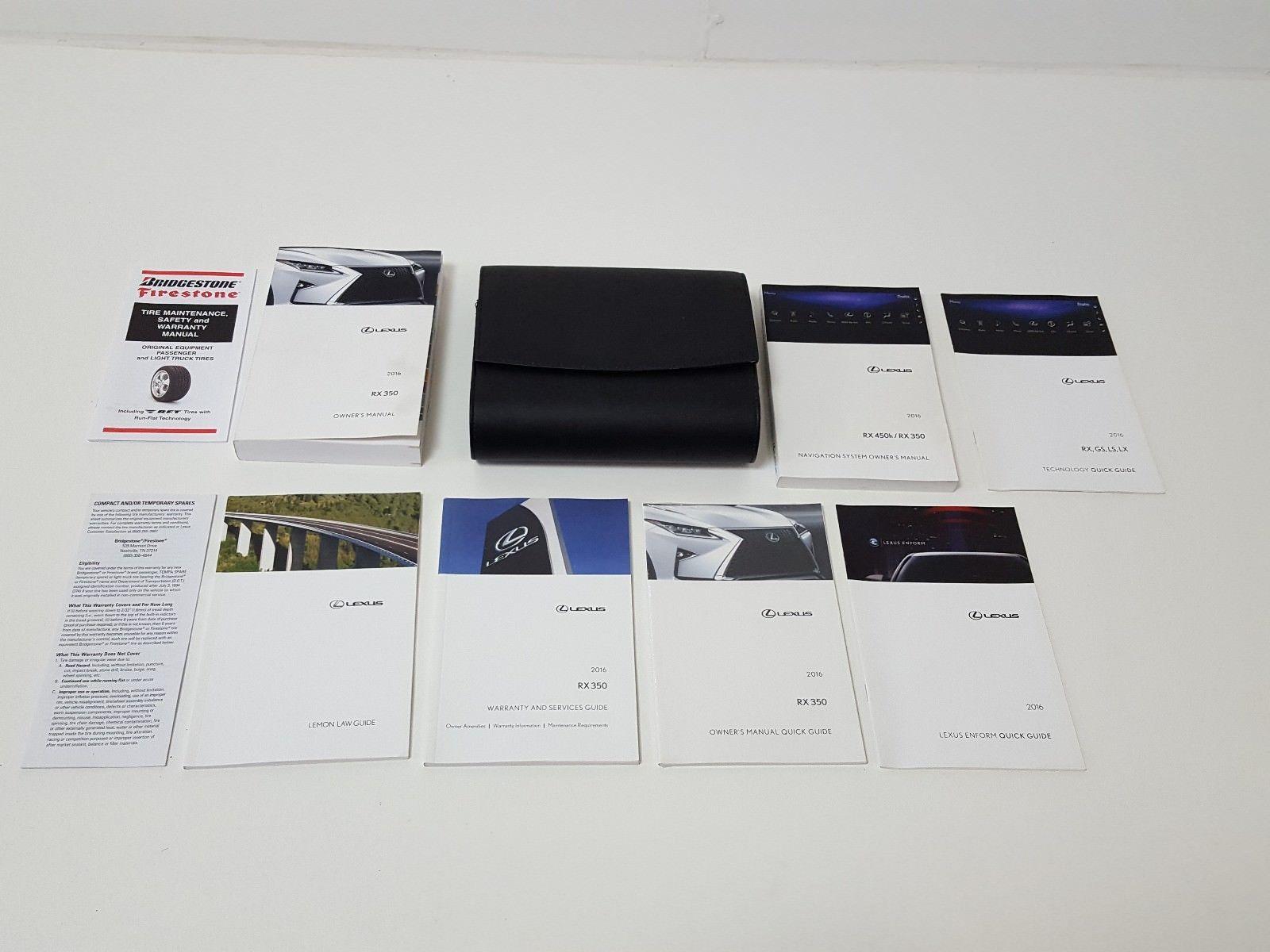 Lexus Rx 350 Instruction Manual